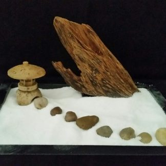 Agarwood zen garden wind mountain