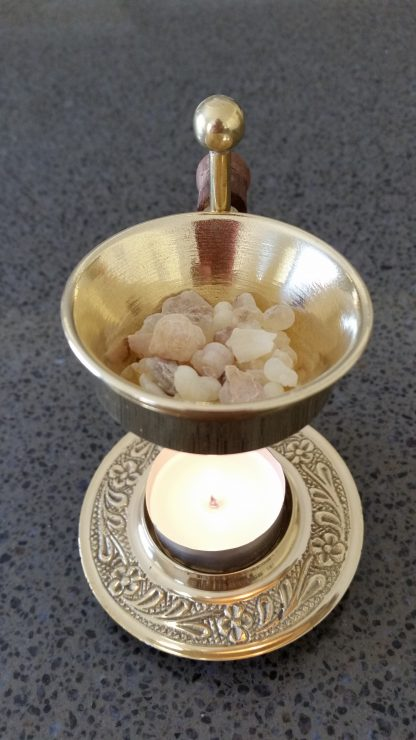 Brass Frankincense Oil burner