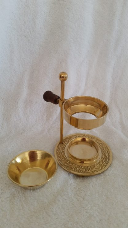 Oil Burner bowl attachment