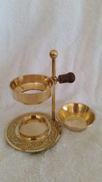 Frankincense Oil Burner with bowl