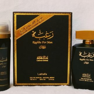 Raghba For Man Edp Deo Lattafa