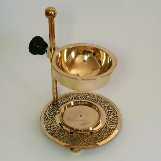round bowl brass burner